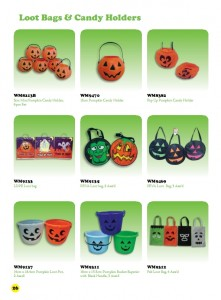 6th Edition - Loot Bags & Candy Holders 1