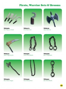 6th Edition - Pirate, Warrior Sets & brooms 4