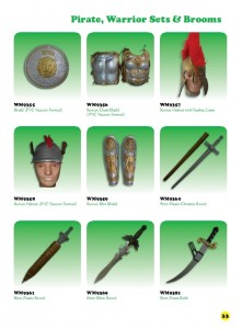 6th Edition - Pirate, Warrior sets & brooms 2